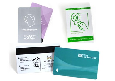 Hotel key card, Loyalty Card, ID card
